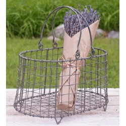 Flower Basket with Handles