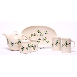 Blueberry Tea Set  sc 1 st  Lake Cabin Comfort & Dinnerware