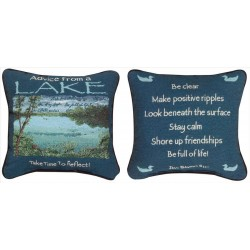 Advice From The Lake -YTN-12 Pillow